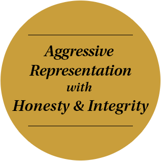 Aggressive Representation with Honesty & Integrity